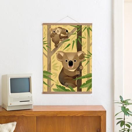 Set / Koala + Posterleiste Eiche 50 cm / SALE
