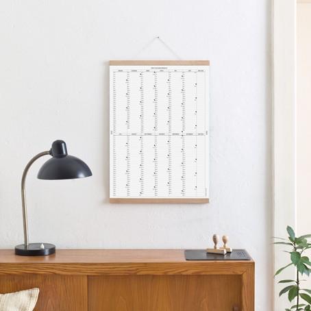 Der A2 Wandkalender 2020 mit Posterleiste / SALE