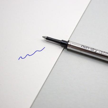 Tintenrollermine Blau B