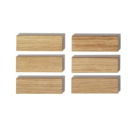 Holzmagnete