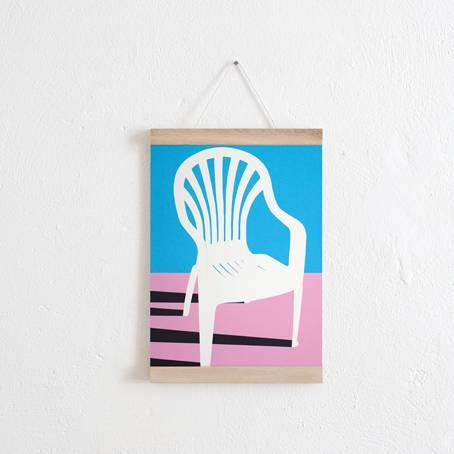 Whitw-Plastic-Chair+PosterleisteA4_KVL
