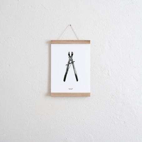 Set / Schnallzange Wendeposter + Posterleiste A4