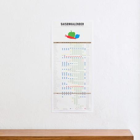 Der Saisonkalender
