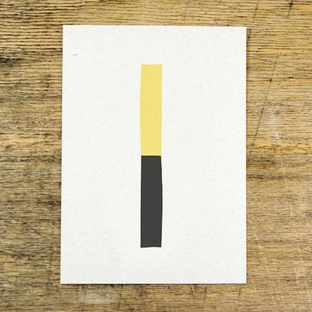 Postkarte Rechteck
