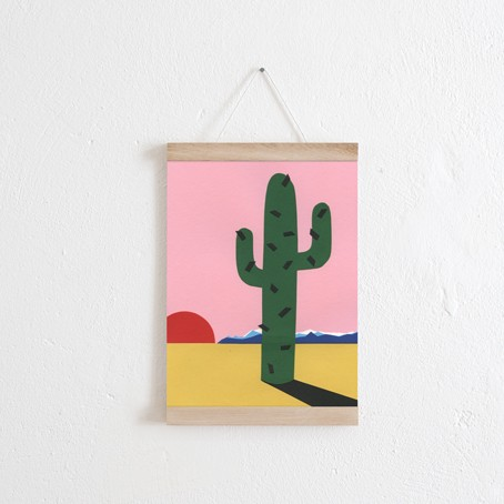 Set / Sierra Nevada + Posterleiste Eiche A4
