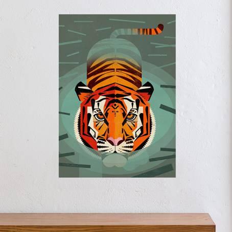 Dieter Braun- Swimming Tiger