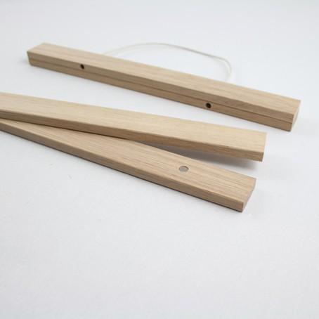 magnetische posterleiste bilderleiste eiche a4 kleinwaren von laufenberg. Black Bedroom Furniture Sets. Home Design Ideas