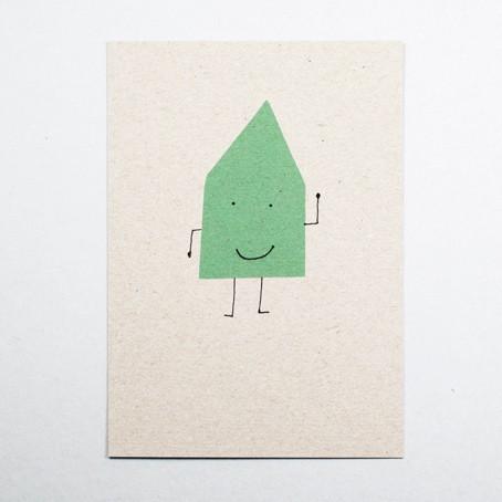 Postkarte Hausmann