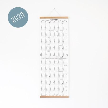 Der lange Wandkalender 2020 mit Posterleiste / SALE