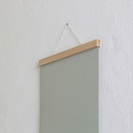 Bilderleiste Holz magnetische posterleiste bilderleiste eiche a3 kleinwaren