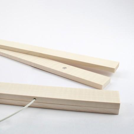Bilderleiste Holz magnetische posterleiste bilderleiste ahorn a2 kleinwaren