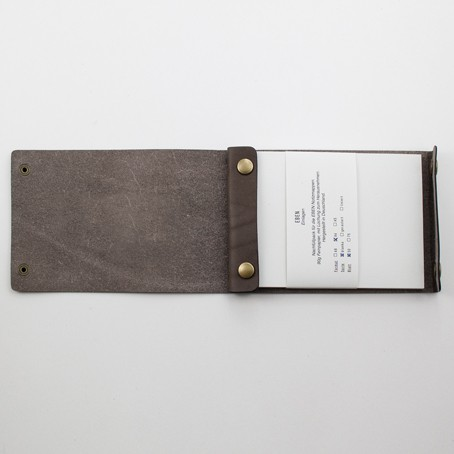 EBEN Mappe A6 – Braun