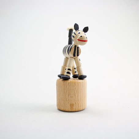 Wackeltier Zebra