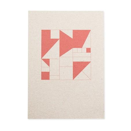 Geometrisch rot