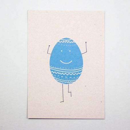 Postkarte Eiermann