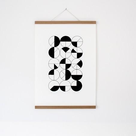 Set / Metrisch 1 + Posterleiste Eiche A2